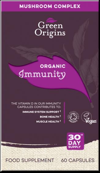 Green Origins Organic Immunity Capsules - 6 pack