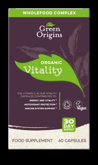 Green Origins Organic Vitality Capsules - 6 pack