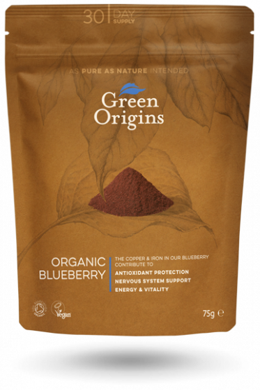 Organic Freeze Dried Blueberry Powder (75g)