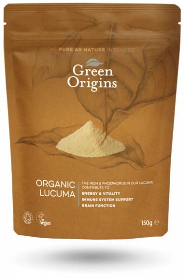 Green Origins Organic Lucuma Powder (Raw) 150g - 6 pack