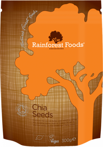 Rainforest Foods Chia Seeds 300g - 6 pack