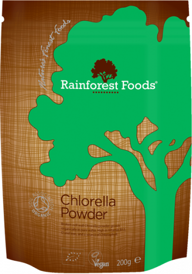 Rainforest Foods Chlorella Powder 200g - 6 pack