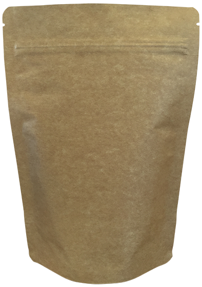 750g Heavy Duty Premium Kraft Pouch - Pack of 50