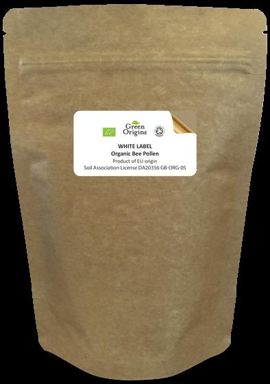 White Label Organic Bee Pollen