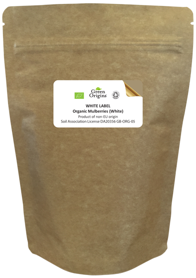 White Label Organic Mulberries (White)