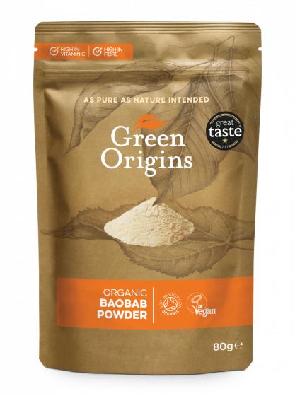 Organic Baobab Powder (Raw)