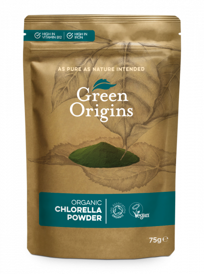 Organic Chlorella Powder (Broken Cell Wall)
