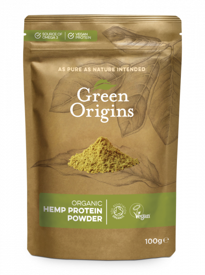 Organic Hemp Protein Powder (Raw)