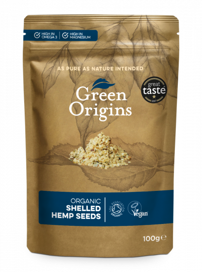 Organic Shelled Hemp Seeds (Raw)