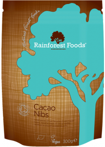 Rainforest Foods Cacao Nibs 300g - 6 pack