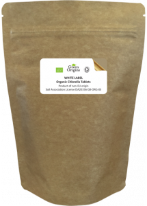 White Label Organic Chlorella Tablets