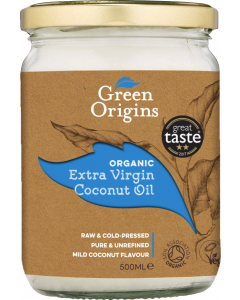 Organic Extra Virgin Coconut Oil 500ml