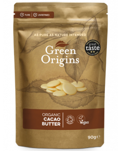 Green Origins Organic Cacao Butter 90g - 8 pack