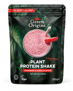 Organic Strawberry & Acerola Plant Protein Shake