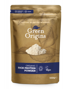 Organic Rice Protein Powder 100g