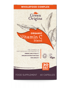 Green Origins Organic Vitamin C Capsules - 6 pack