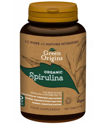 Organic Spirulina Tablets (180x500mg)
