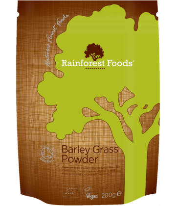 Rainforest Foods Barley Grass Powder 200g - 6 pack