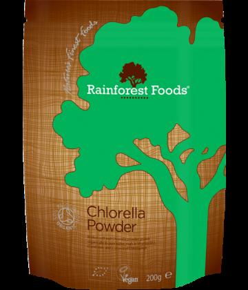 Rainforest Foods Chlorella Powder 200g - 6 pack