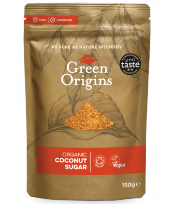 Green Origins Organic Coconut Sugar 150g - 6 pack