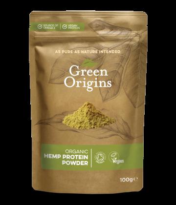 Organic Hemp Protein Powder (Raw) 100g