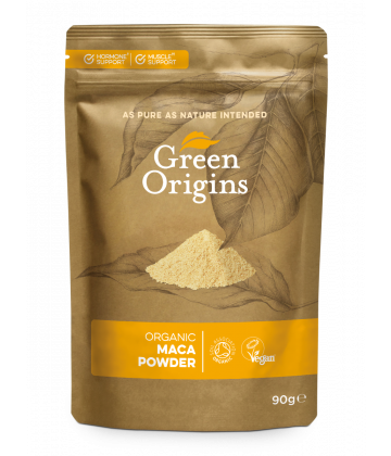 Green Origins Organic Maca Powder (Raw) 90g - 8 pack