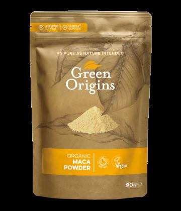 Green Origins Organic Maca Powder (Raw) 90g - 8 pack
