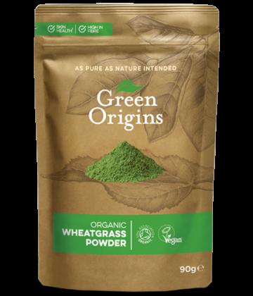 Green Origins Organic Wheatgrass Powder 90g - 8 pack