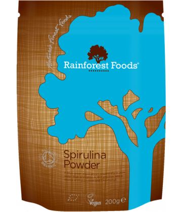 Rainforest Foods Spirulina Powder 200g - 6 pack