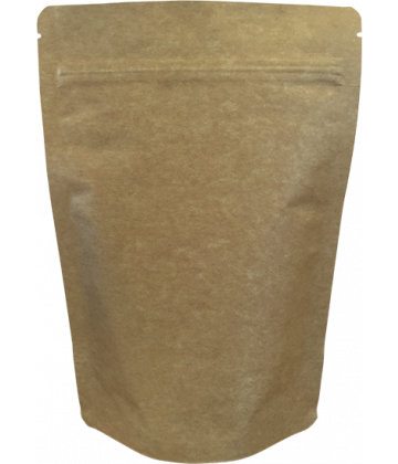400g Heavy Duty Premium Kraft Pouch - Pack of 50