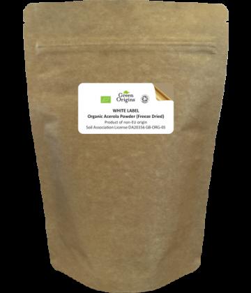 White Label Organic Acerola Powder (Freeze Dried)