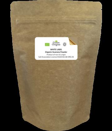 White Label Organic Guarana Powder